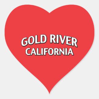Gold River California Stickers