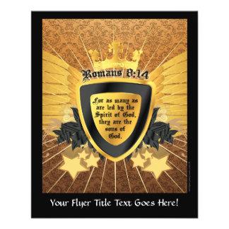 Gold Romans 8:14, Sons of God Flyer