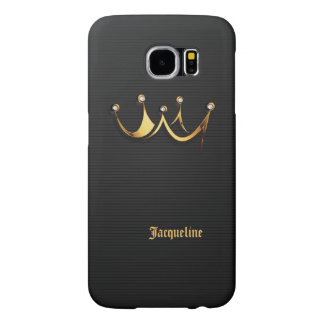 Gold Royal Queen Crown Samsung Galaxy S6 Cases