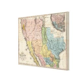 Gold Rush to California Canvas Print