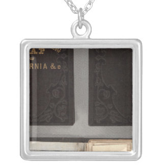 Gold Rush to California Silver Plated Necklace