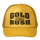 Gold Rush YLW Mesh Hats
