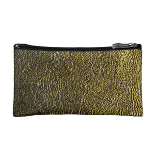 Gold Sandstone Extravagance Cosmetics Bags