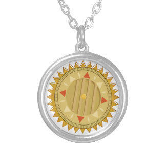 Gold SEAL : Sun CHAKRA Compass Pendant