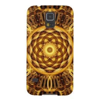 Gold Seam Mandala Cases For Galaxy S5