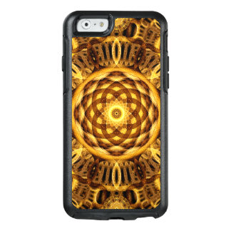 Gold Seam Mandala OtterBox iPhone 6/6s Case