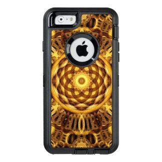 Gold Seam Mandala OtterBox iPhone 6/6s Case