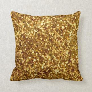 Gold sequins pillow throw cushion