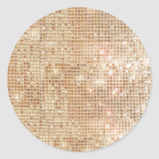 Gold Sequins Sticker