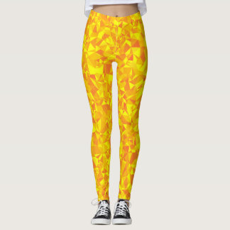 Gold Shards Leggings