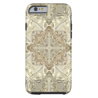 Gold & Silver Kaleidoscope Tough iPhone 6 Case