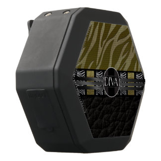 Gold Silver Zebra Diva Black Boombot Rex Bluetooth Speaker