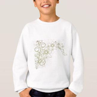 Gold Simple Floral pattern Sweatshirt