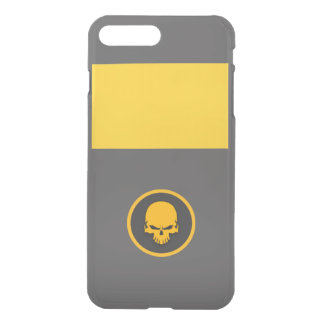 GOLD skull iPhone 7 Plus Case