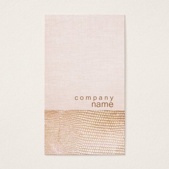 Gold Snake Skin Pattern Pink Linen Look Boutique