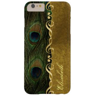 Gold Sol Key Peacock iPhone 6 Plus Monogram Case