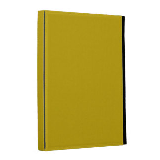 Gold Solid Color iPad Cases