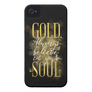 Gold Soul iPhone 4 Case