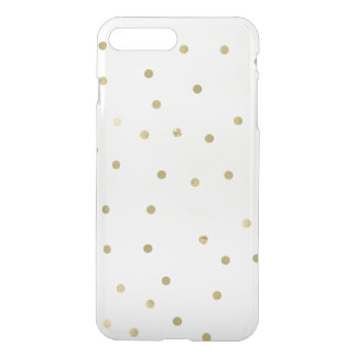 Gold Sparkle Confetti iPhone 8 Plus/7 Plus Case