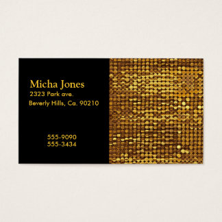 Gold Sparkling Sequin Look