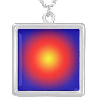 Gold Spot Sun Pattern  JAN 03 2011 MON Custom Necklace