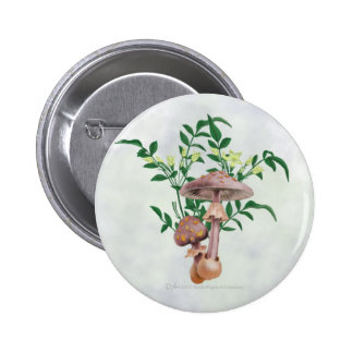 Gold Spotted Mushrooms, Star Flowers Buttons