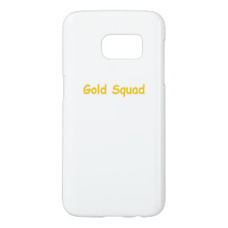 Gold Squad phone case