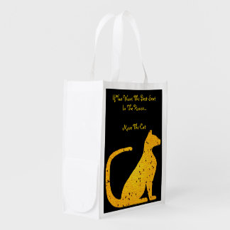 Gold Stained Glass Cat CrystalKatz Totes