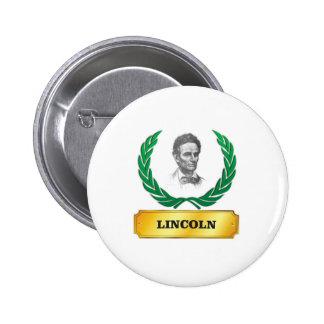 gold standard lincoln 6 cm round badge