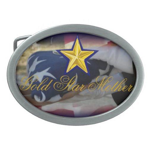 Gold Star Belt Buckle