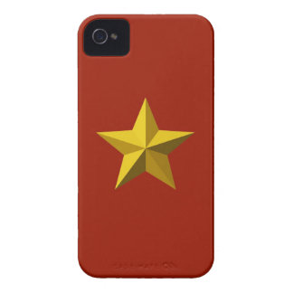 Gold Star Blackberry Bold case