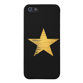 Gold Star Case For iPhone 5/5S