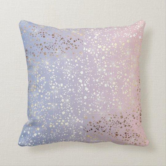 Gold Star Foil Sparkle Rose Quartz Serenity Blue