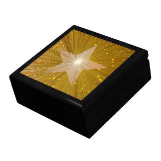 """Gold"" Star gift box"