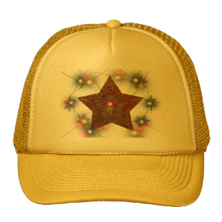 Gold Star Lighted Cap