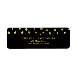 Gold Star Mailing Labels