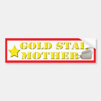 Gold Star Mother - 1 Star Bumper Sticker