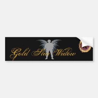 Gold Star Widow Bumper Sticker