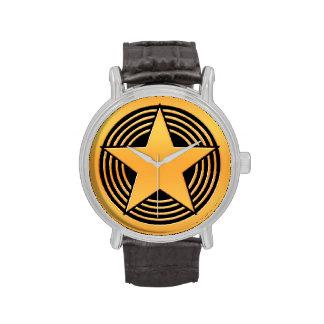 Gold Star Wristwatch