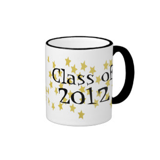 gold stars , Class of 2012 mug
