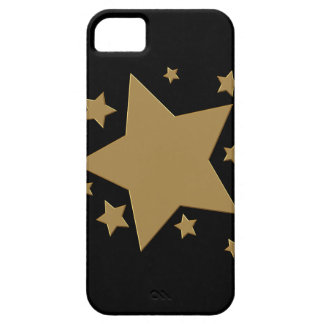 Gold Stars iPhone 5 Cover