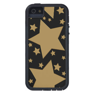 Gold Stars iPhone 5 Covers