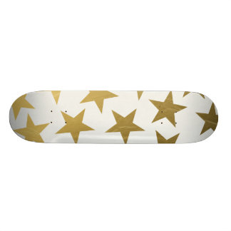 Gold Stars Skateboard Deck