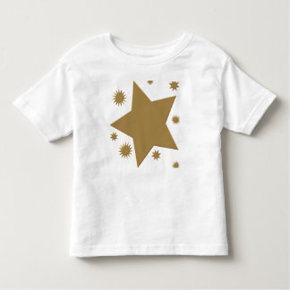 Gold Stars Toddler T-Shirt
