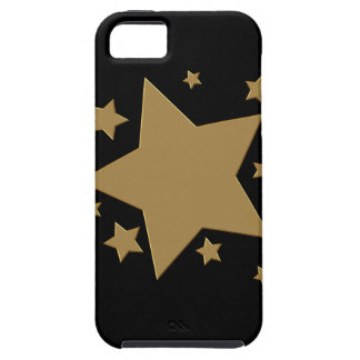 Gold Stars Tough iPhone 5 Case