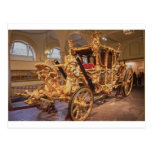 Gold State Coach London Postcards