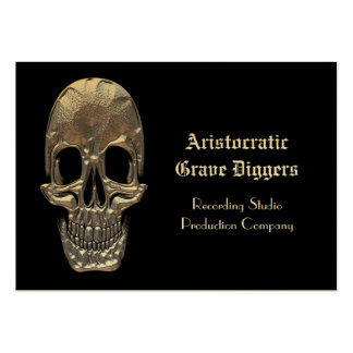 Gold Stock Cranium Professional Pack Of Chubby Business Cards