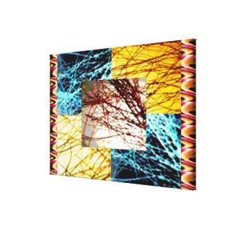 Gold Strands : LIGHT SHADE workshop Canvas Prints