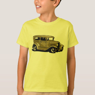 Gold Street Rod T-Shirt