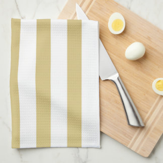 Gold Stripe Cocina Kitchen Towel